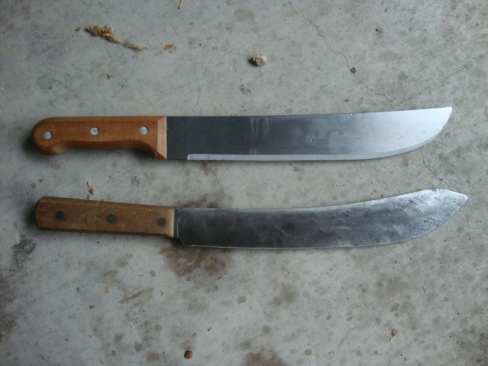 the woods roamer photo gallery of historical butcher slicing and