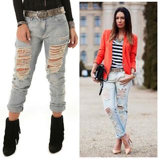 Moda jeans no atacado