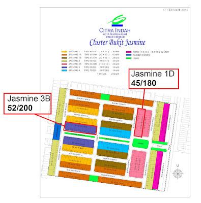 Siteplan-Jasmine-Baru-Perunahan-Unit