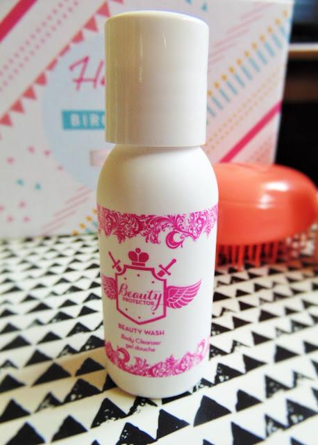 Birch Box September - Happy Birchday!! Beauty protector beauty wash