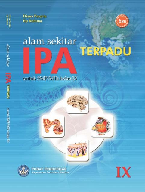 Download Buku Siswa KTSP SMP dan MTs Kelas 9 Alam Sekitar IPA Terpadu