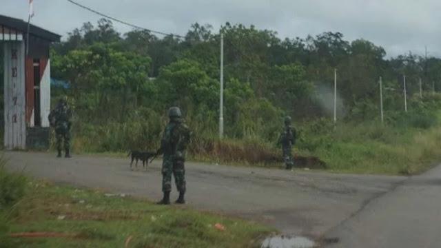 KKB Serang Pos di Yigi, 2 Prajurit TNI Tertembak
