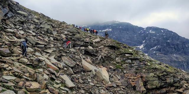 High altitude trek Rupin Pass