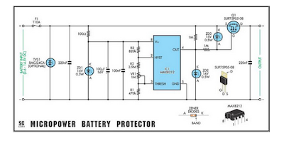Versatile Micropower Battery Protector