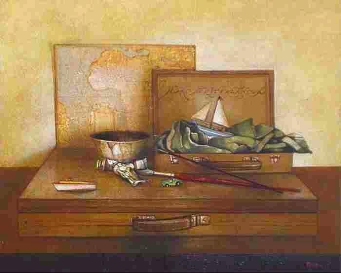 Итальянский художник. Giorgio Brunacci