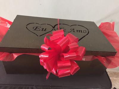 FOTO Presente para namorado,cesta de café da manhã,cesta de chocolate