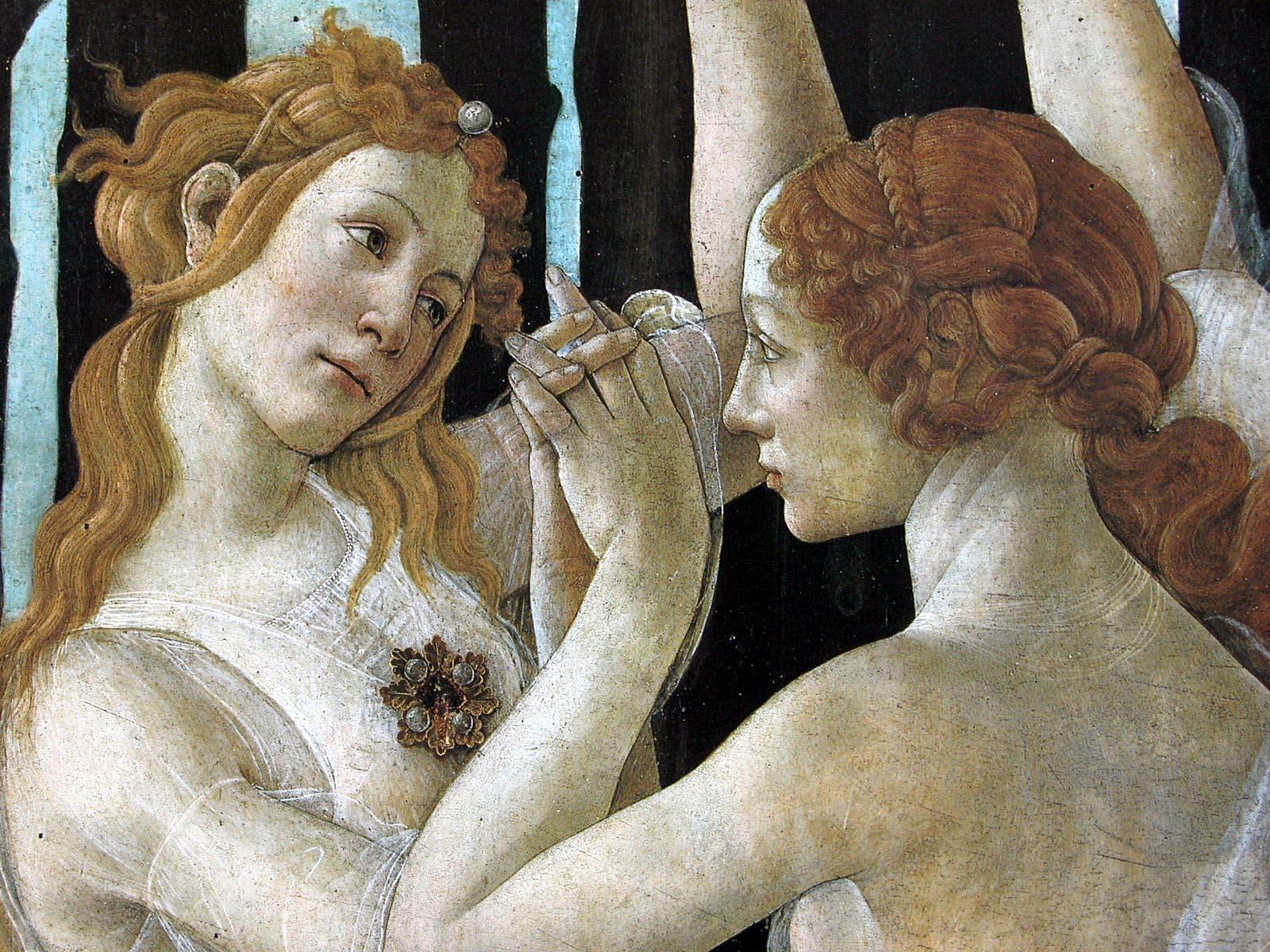 Algunos Detalles Sobre La Primavera De Sandro Botticelli Razon