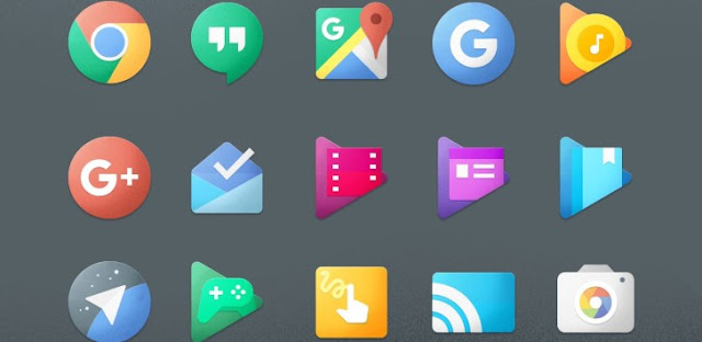 Chromatin UI - Icon Pack v2.3 APK Theme for Android