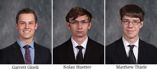 3 Knights Named National Merit Semi-Finalists; 1 Commended Student