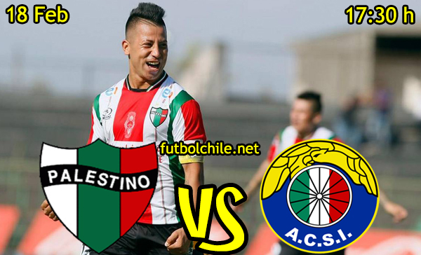 Ver stream hd youtube facebook movil android ios iphone table ipad windows mac linux resultado en vivo, online: Palestino vs Audax Italiano