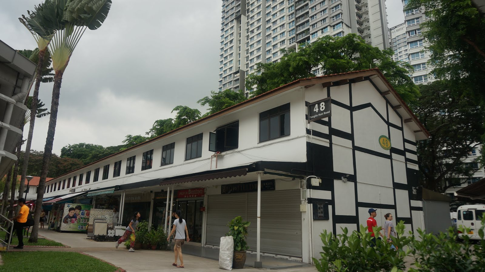 Dayang Yraola: Tanglin Halt (Queenstown, Singapore)