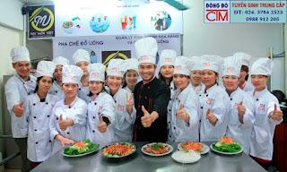 học trung cấp nấu ăn ở đâu