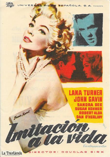 Imitación a la Vida - Programa de Cine - Lana Turner - John Gavin