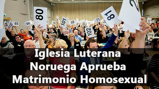 Iglesia Luterana Noruega Aprueba Matrimonio Homosexual
