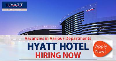 Job Vacancies at Hyatt Hotel in Dubai