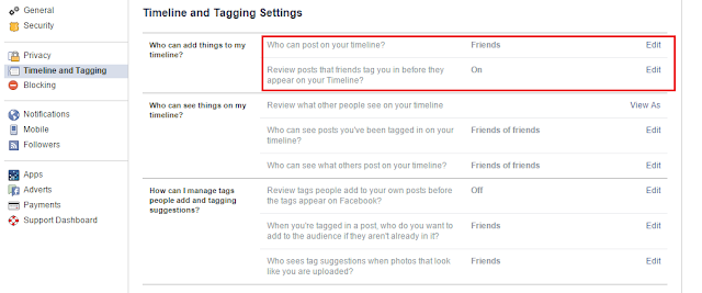 how to stop facebook spam