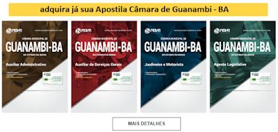 Apostila concurso Câmara de Guanambi-BA 2018