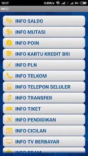 Informasi Saldo Mobile BRI