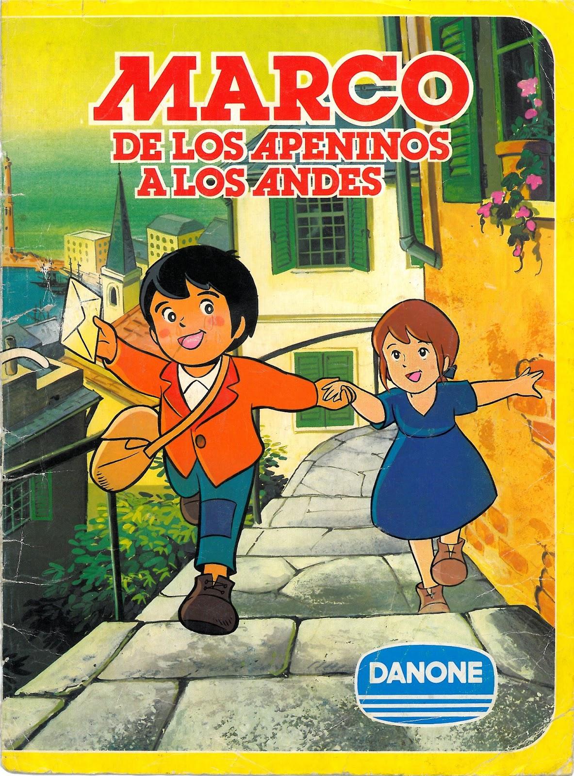 Memorias de plástico y papel: Marco, de los Apeninos a los Andes ...