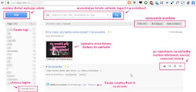 Diido - strona z Twoimi zakładkami online
