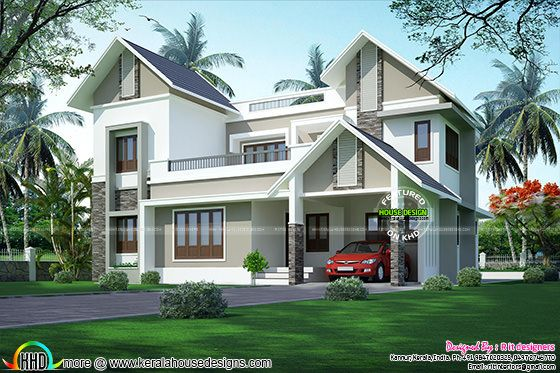 Kannur home design 2017