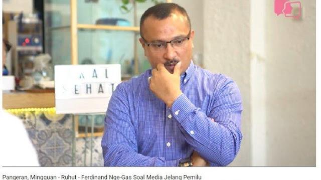 Ferdinand Sebut Jokowi Mengaku Dirinya Antek Asing saat Bahas 'Propaganda Rusia', Ini Penjelasnnya