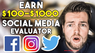 Mendapatkan Uang di Internet dari Social Media Evaluator