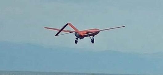 Gambar operasi UAV (Unmmaned Aerial Vehicle) Drone dalam menjaga kedaulatan Negara Indonesia