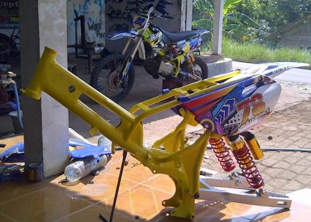 76+ Gambar Rangka Bebek Trail HD