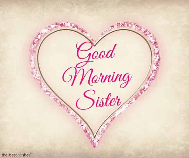 good morning sister happy monday