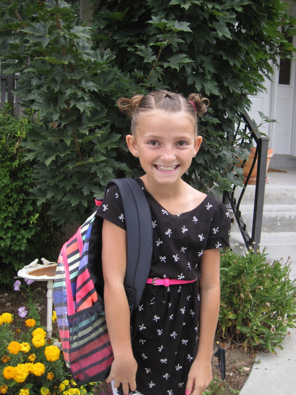 The Ekker Girls: 1st day of school