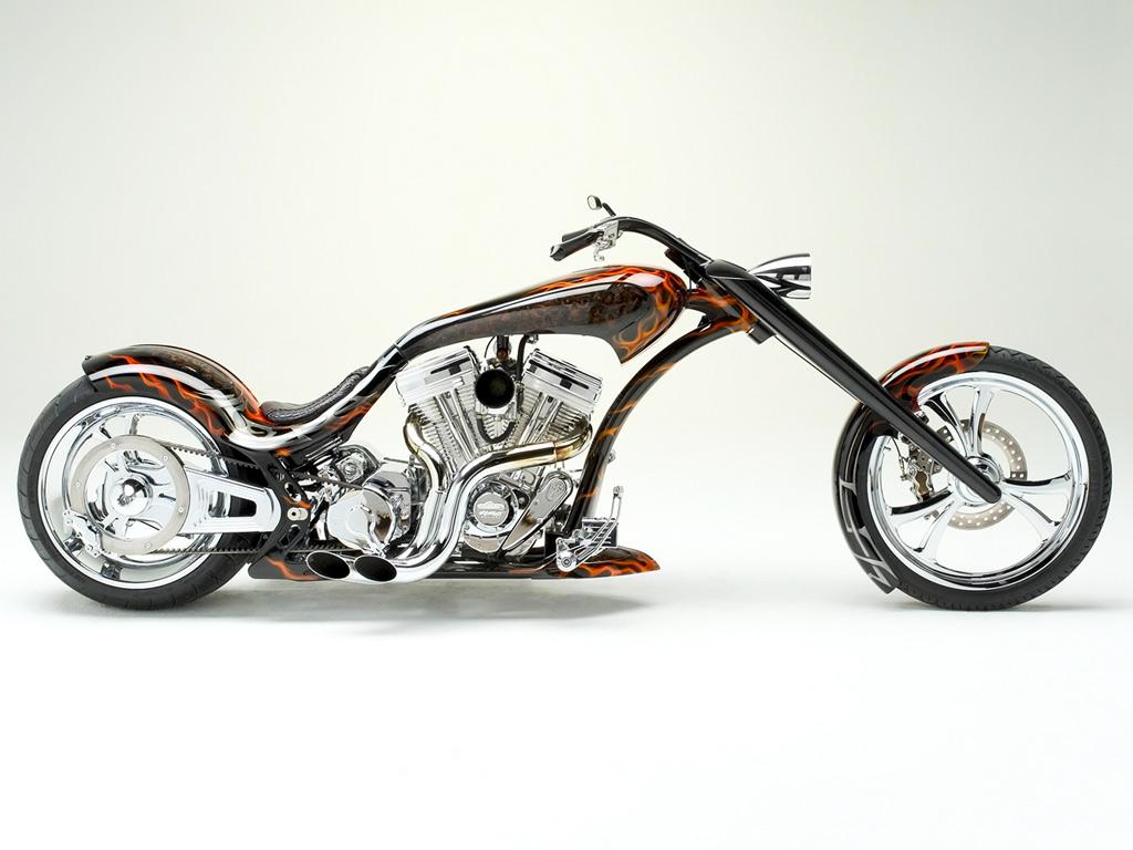 Motorcycle Custom Chopper Bike