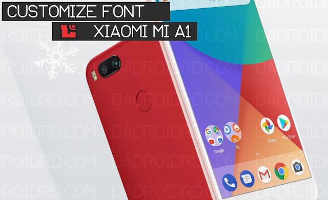 Cara Mengganti Font Pada Xiaomi Mi A1 Di Versi Android Oreo 1