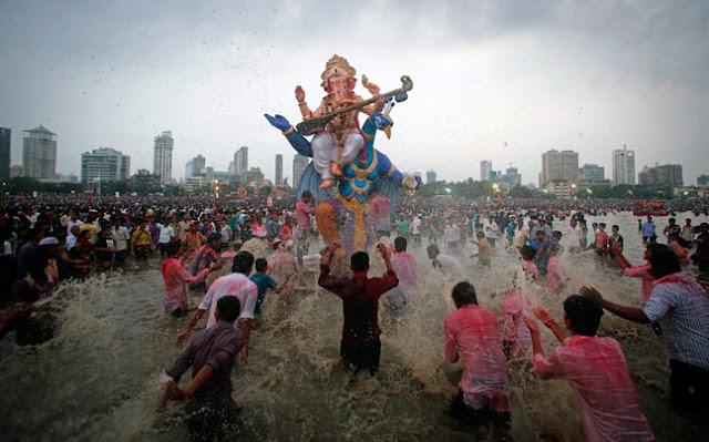 Ganesh Chaturthi Images Mumbai