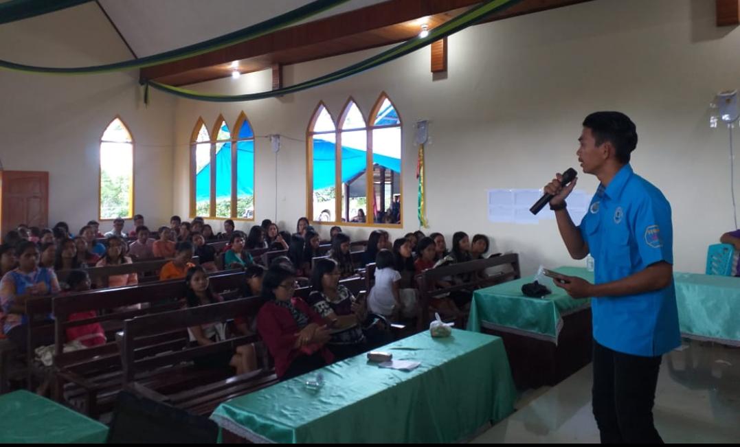 Cegah Penyalahgunaan Narkoba, BNNK Tana Toraja Edukasi Jemaat Rantekarua