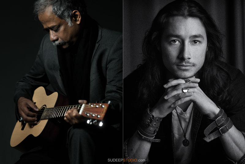 Professional Musician Portrait CD Artwork Photographer Ann Arbor - SudeepStudio.com