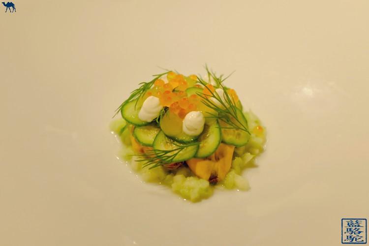 Le Chameau Bleu - Moule Escabeche - Restaurant Volta - Gand Gastronomie en Belgique