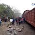 Saquean parte de la carga de un tren descarrilado en Tucumán