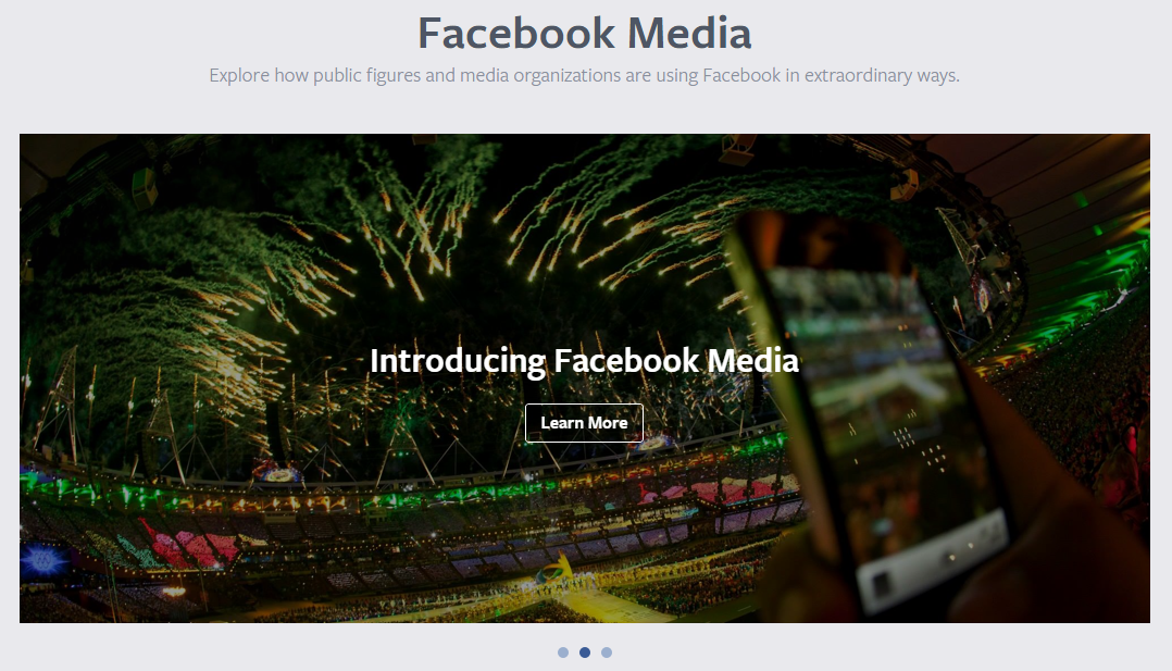 Facebook Introduces Facebook Media To Engage More Fans