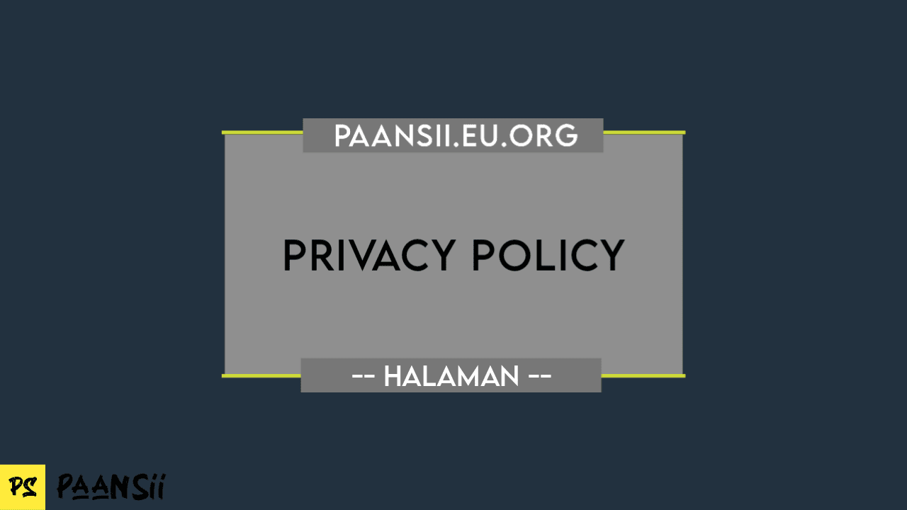 Privacy Policy - Paansii