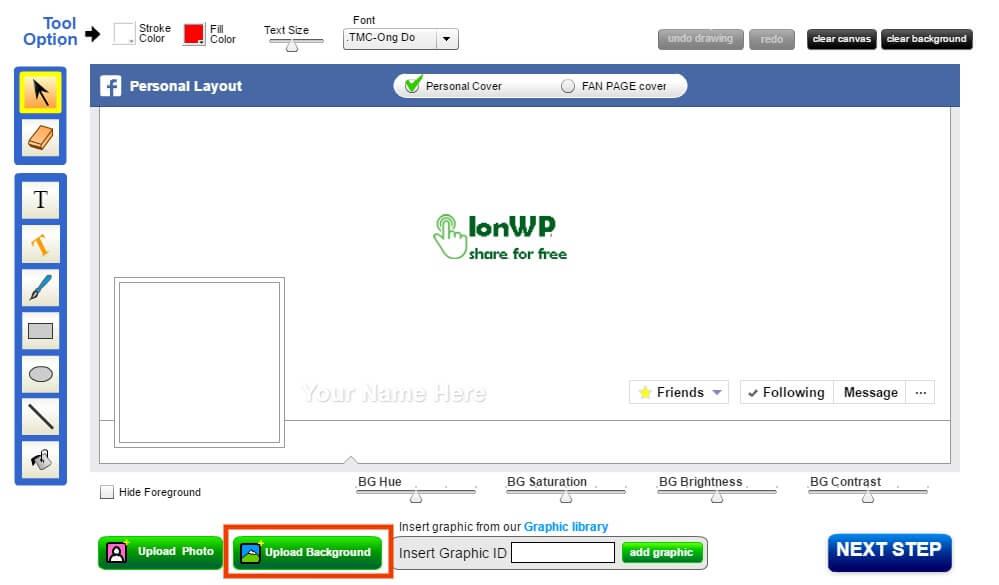 Hướng dẫn tạo ảnh đại diện và ảnh bìa trùng khớp trên Facebook không cần Photoshop