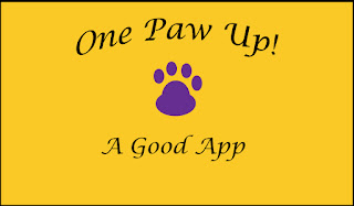 One Paw Up--a good app!