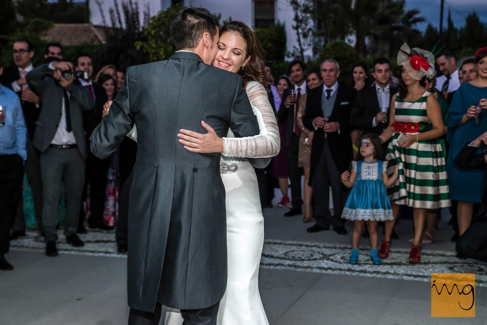 Fotografía de boda en Granada, El baile de Boda