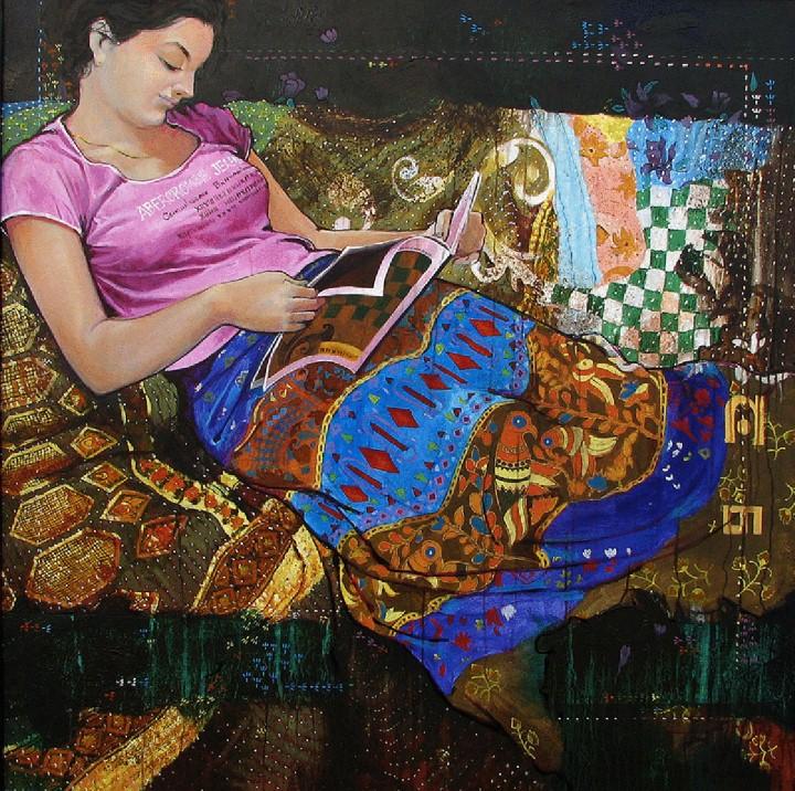 Ramchandra Kharatmal. Художник из Индии 7