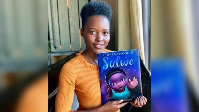 Lupita Nyong'o Unveils Cover of Her First Children's Book