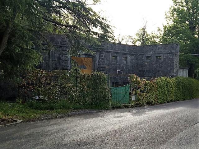 tratto antiche mura sarbia