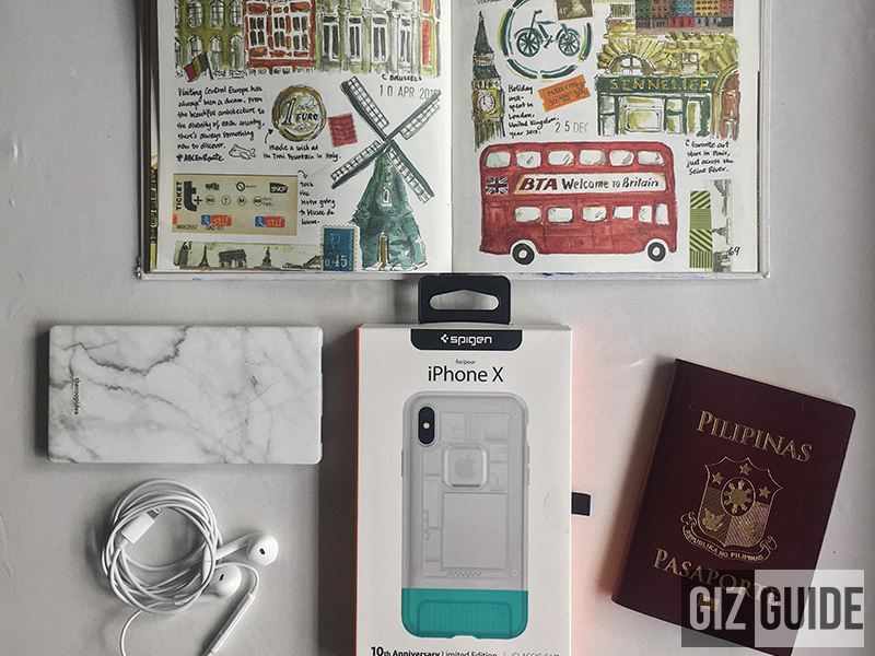 Spigen Classic C1 case on its box