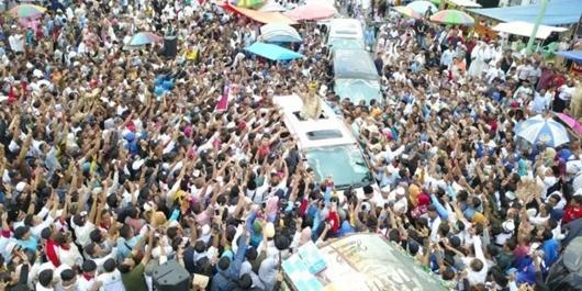 Prabowo Disambut Lautan Massa di Riau, BPN: Kemenangan di Depan Mata