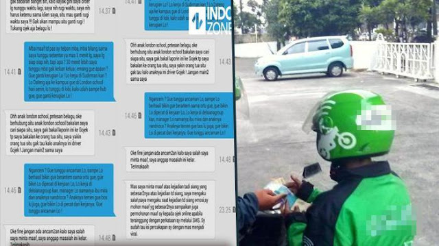 Jawaban Driver Ojek Online Bikin Wanita Ini Bungkam Saat Diancam Laporkan ke Orang Tua