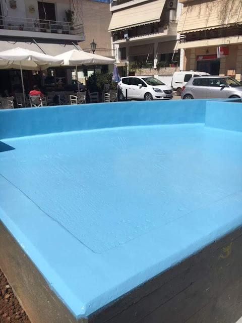 Εργασίες ανακαίνισης μεταμόρφωσαν την πλατεία Αγ. Κωνσταντίνου στο Ναύπλιο